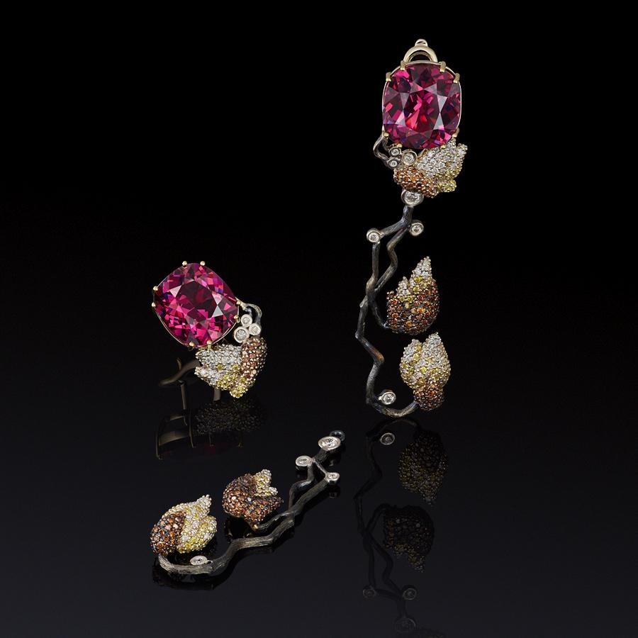 Коллекция «Японский сад» Izmestiev Diamonds